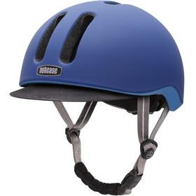 Nutcase Metroride casco per bici blu